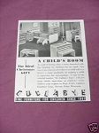 1941 Child's Room Ad Lullabye Furniture Corp.