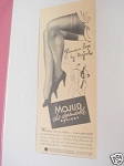 1940 Ad Mojud The Dependable Hosiery