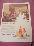 1940 Johnnie Walker Blended Scotch Whiskey Ad