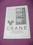 1923 Crane Ad Sinks and Valves