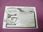 1903 Shredded Wheat Ad The Natural Food Company