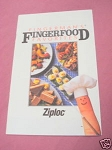 Fingerman's Fingerfood Favorites Recipe Booklet Ziploc