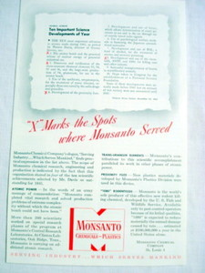 1946 Ad Monsanto Chemical Company, St. Louis, Mo.