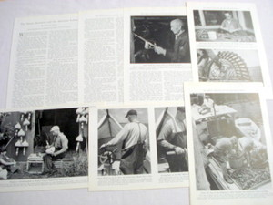 1946 21 Page Magazine Article Maine American & Lobster