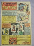 1968 Ad Marvel Plastic Pillows and Super-Hero T-Shirts Spider-Man, Thor