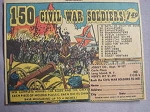 1961 Ad 150 Civil War Soldiers by Josely Co., Carle Place, Long Island, N. Y.