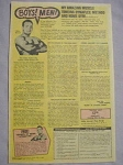 1968 Bodybuilding Ad Mike Marvel Dynaflex and Home Gym