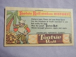 1963 Ad Tootsie Roll Makes History Featuring Ponce de Leon from Spain