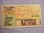 1963 Ad Tootsie Roll Tongue Teaser-Now Buy A Tongue Pleaser