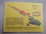 1959 Ad The Regulus II Plastic Model Aurora Plastics Corp., West Hempstead N. Y.