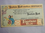 1961 Ad Tootsie Roll Makes History Romeo and Juliet