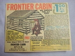 1962 Ad Frontier Cabin Big Enough For 2-3 Kids