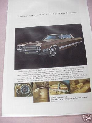 1965 Buick Electra 225 Color Ad