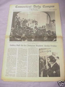 April 29, 1968 Connecticut Daily Campus Newspaper UCONN