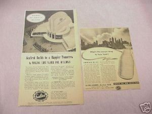 1939 New York World's Fair Pages Sealtest Pavillion