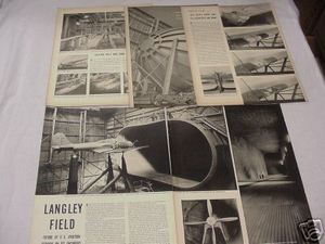1939 8 Page Life Magazine Article Langley Field