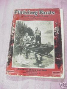 Fishing Facts by Sheridan R. Jones 1923