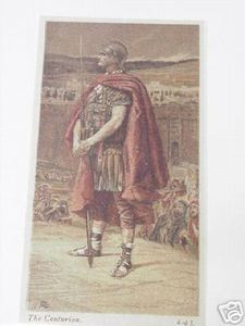 1899 Illustrated Bible Page The Centurion