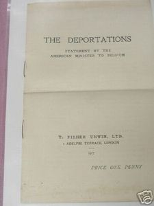 The Deportations WWI 1917 World War I Booklet