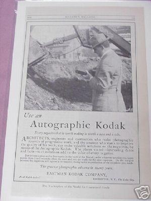 1915 Ad Use An Autographic Kodak Eastman Kodak Company