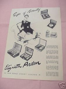 1939 Ad Elizabeth Arden Gifts of Beauty Gift Sets