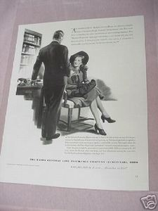 1941 Ad Union Central Life Insurance Company Cincinnati