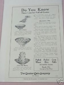 1919 Ad The Quaker Oats Company Do You Know