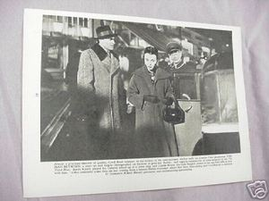 1955 Illustrated Page The Man Between James Mason