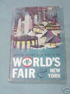 American Airlines Guide Book to the World's Fair 1964