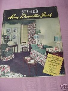 1947 Singer Home Decoration Guide, Singer Sewing Machine Company