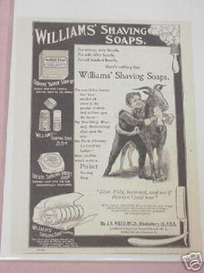 1897 Ad The J. B. Williams Co., Glastonbury, Ct.