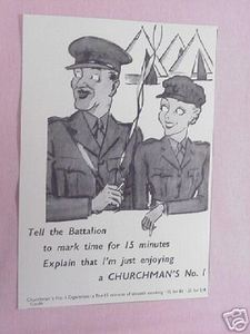 1939 Ad Churchman's No. 1 Cigarettes