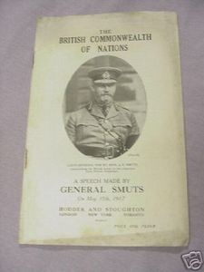 The British Commonwealth of Nations WWI Booklet 1917