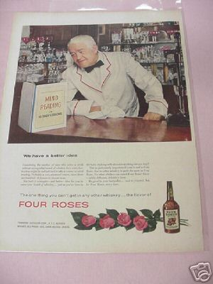 1954 Four Roses Whiskey Ad