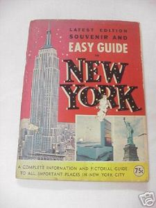 1966 Easy Guide To New York Souvenir Booklet New York City