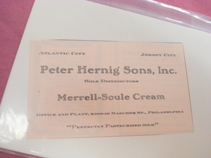 1924 Ad Merrell-Soule Cream Perfectly Pasteurized Milk