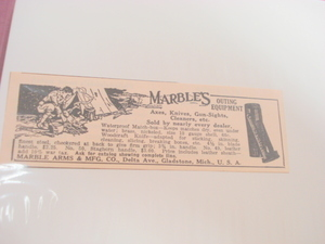 1923 Ad Marble Arms & Mfg. Co. Gladstone, Michigan