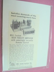 1951 Bell Sound Systems, Inc., Columbus, Ohio Ad