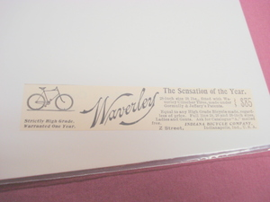 1894 Ad-The Waverly-Indiana Bicycle Co., Indianapolis