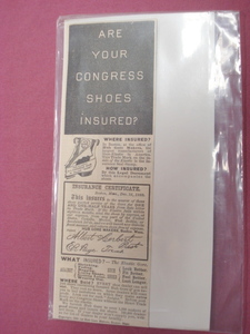 1889 Illustrated Ad Hub Gore Makers Shoe Elastic Boston