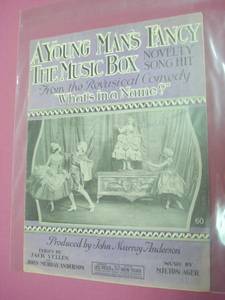 A Young Man's Fancy Sheet Music What's In A Name 1920