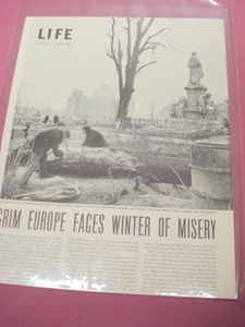1946 Magazine Article Grim Europe Faces Winter of Misery