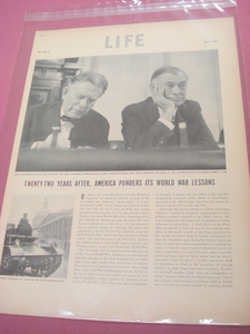 1939 3 Page Life Magazine Article U.S. Neutrality Act