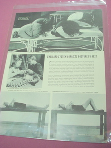1941 Dr. Sweigard System Posture Magazine Article