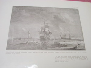 1925 Illustrated Page Greenland Whale Fishery