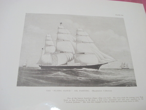1925 Illustrated Page The Flying Cloud Clipper Ship