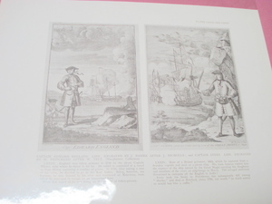 1925 Illustrated Page Captain England & Captain Avery