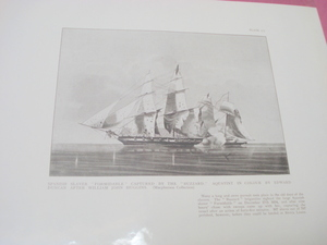 1925 Illustrated Page Naval Battle Formidable and Buzzard