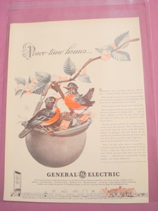 1940's General Electric World War II Ad