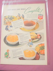 1944 Campbell's Soup